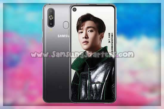 Desain Samsung galaxy A8s