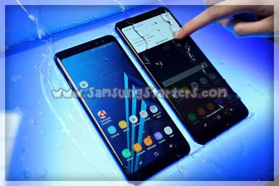 Koneksivitas Samsung Galaxy a8s