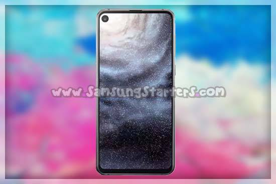 Layar Samsung Galaxy A8s