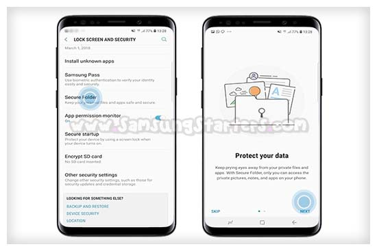 Cara Menyembunyikan Aplikasi di Samsung