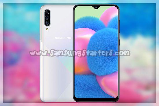 Desain Samsung Galaxy A30s