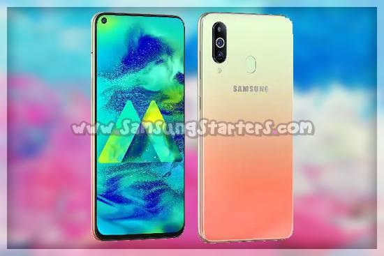 Desain Samsung Galaxy M40