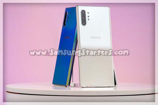 Desain Samsung Galaxy Note 10 Plus