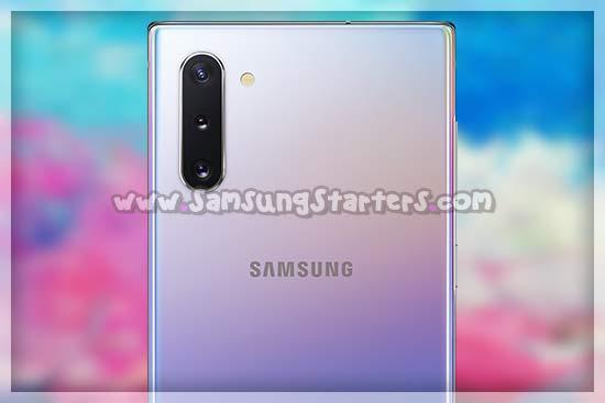 Kamera Galaxy Note 10