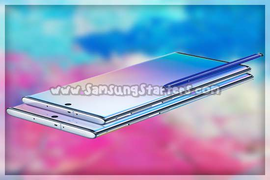 Layar Samsung Galaxy Note 10 Plus