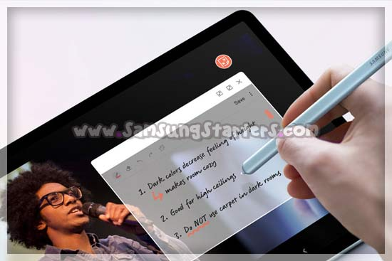 Spesifikasi Samsung Galaxy Tab S6