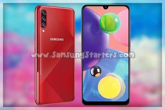 Fotografi Samsung Galaxy A70s