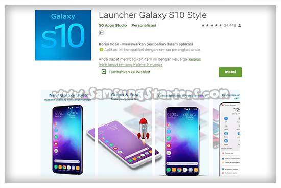 Galaxy S10 Style