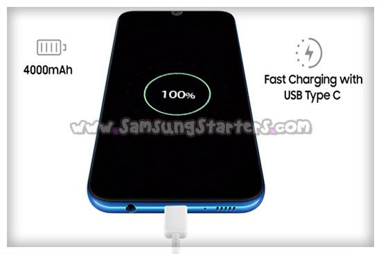 Koneksivitas Samsung Galaxy A50