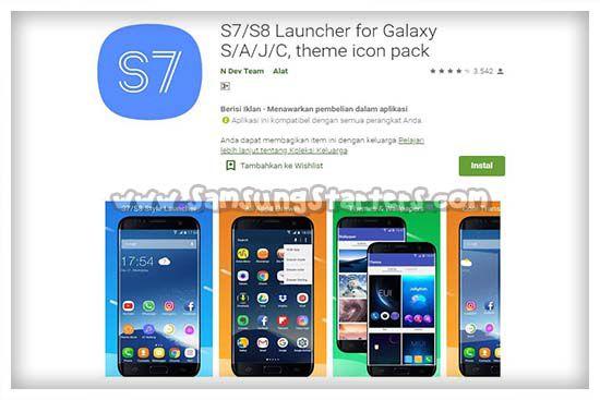 Aplikasi Launcher Samsung