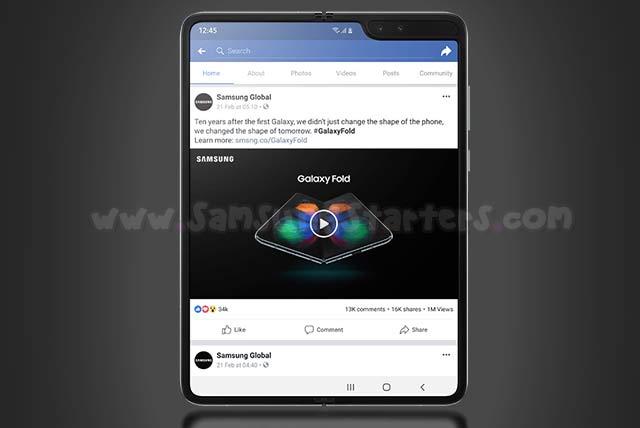 Spesifikasi dan Harga Samsung Galaxy Fold