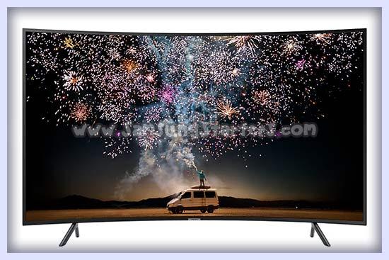 Smart TV Layar Lengkung Samsung