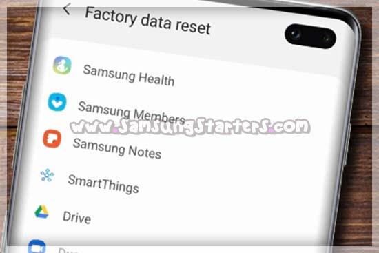 Cara Merestart hp Samsung