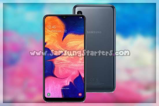 Desain Samsung Galaxy A10
