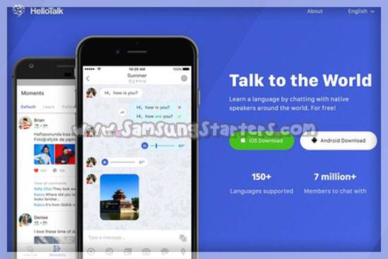 Hello Talk Learn Languages