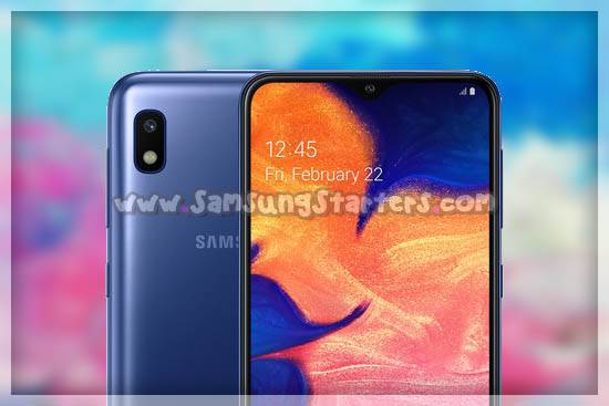 Kamera Samsung galaxy a10