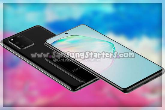 Desain Samsung Galaxy S10 Lite