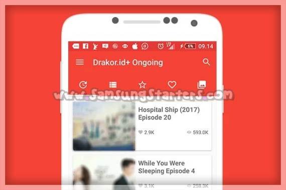 Aplikasi Nonton Drama Korea Terbaru