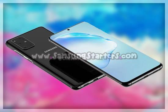 Desain Samsung Galaxy S20 Plus