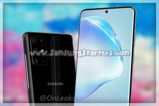 Kamera Samsung Galaxy S20 Plus