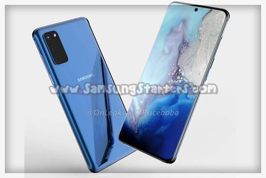 Spesifikasi Samsung Galaxy S20 Plus