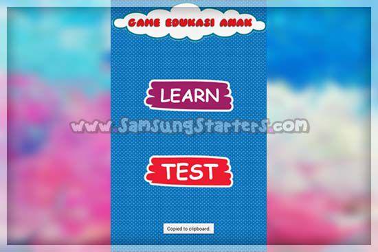 Aplikasi Edukasi Anak Lengkap
