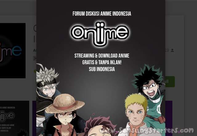 Aplikasi Nonton Anime Subtitle Indonesia