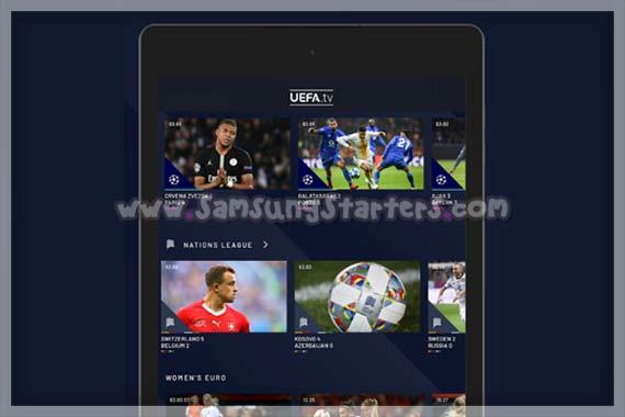 Aplikasi Nonton Bola Uefa TV