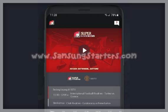 Aplikasi Streaming Bola Liga Champions