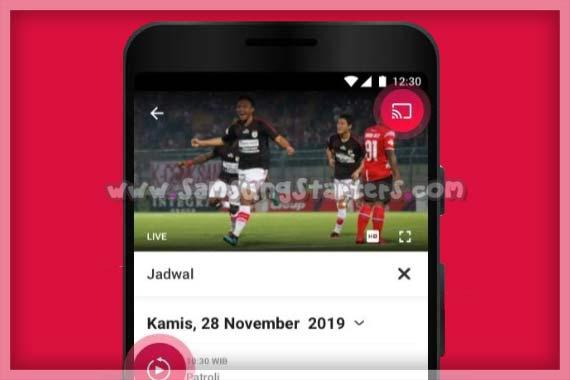 Aplikasi Streaming Bola Online Gratis
