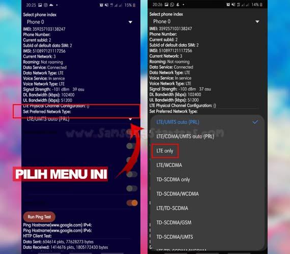 Cara Mengunci Jaringan 4G Hp Samsung