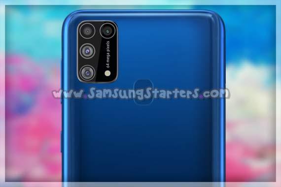 Kamera Samsung Galaxy M31