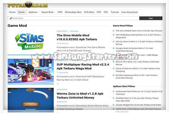 Situs Download Game APK PutraAdam