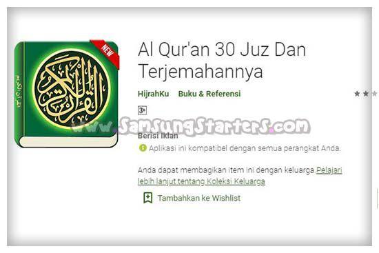 Al Quran 30 Juz Dan Terjemahnya