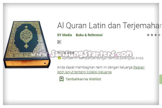 Al Quran Latin Dan Terjemah