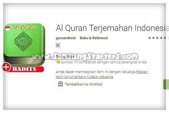 Al Quran Terjemah Indonesia