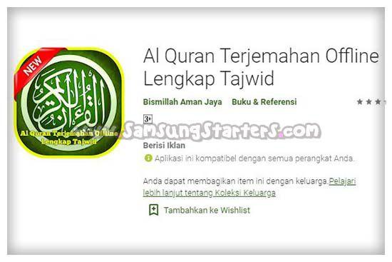 Aplikasi Al Quran Bahasa Indonesia