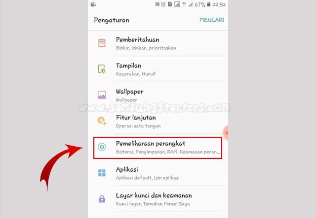 Cara Memindahkan Aplikasi ke Kartu SD Samsung J2 Prime