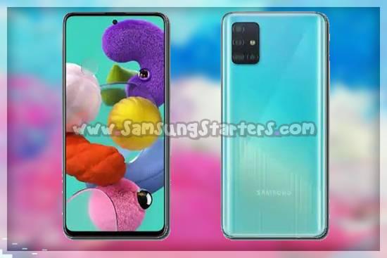 Desain Samsung Galaxy A51 5G