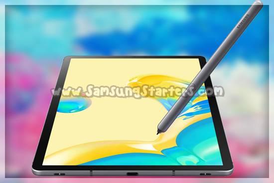 Desain Samsung Galaxy Tab S6 5G