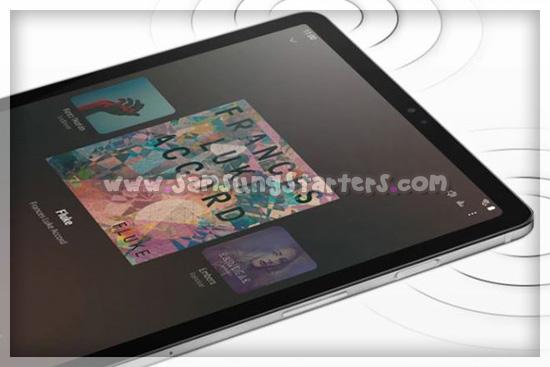 Koneksi Samsung galaxy TAb S6 5G