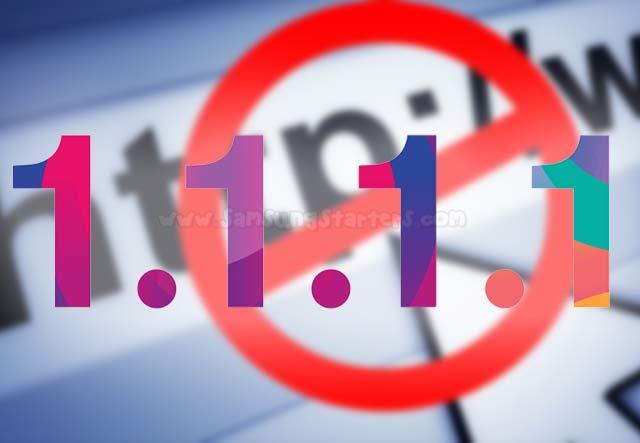 11 Cara Membuka Situs Yang Diblokir di Google Chrome Hp Dengan 1.1.1.1