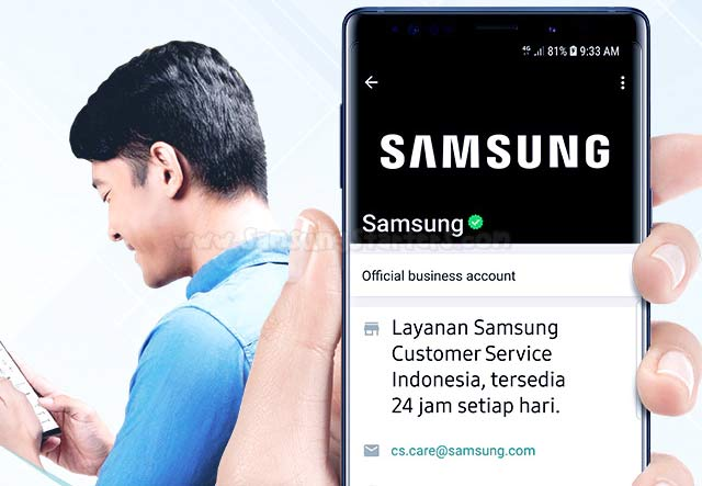 9 Call Center Samsung Indonesia Telepon Email Whatsapp Live Chat