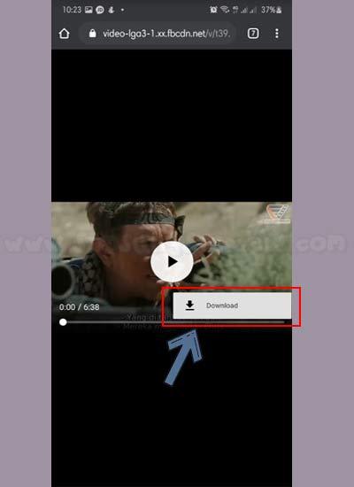 Cara Download Video FB Tanpa Aplikasi