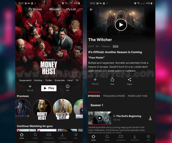 Cara Nonton Netflix Telkomsel