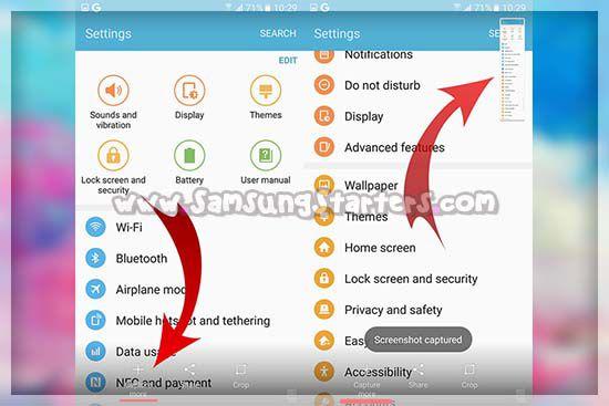 Cara Screen Shot Panjang HP Samsung