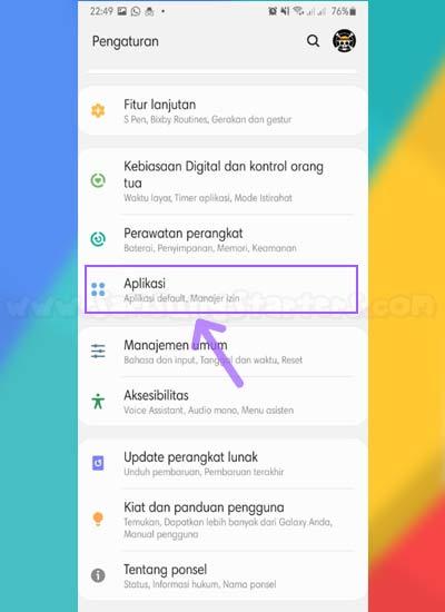 Aplikasi Samsung