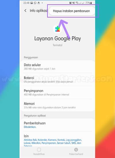 Cara Mengatasi Google Service Has Stopped