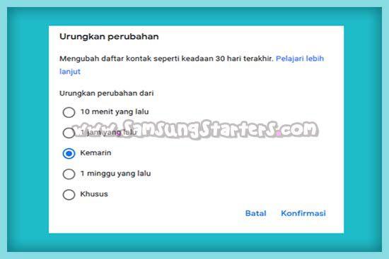 Cara Mengembalikan Kontak Yang Terhapus Di HP Samsung3