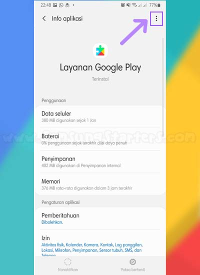 Google Play Terhenti